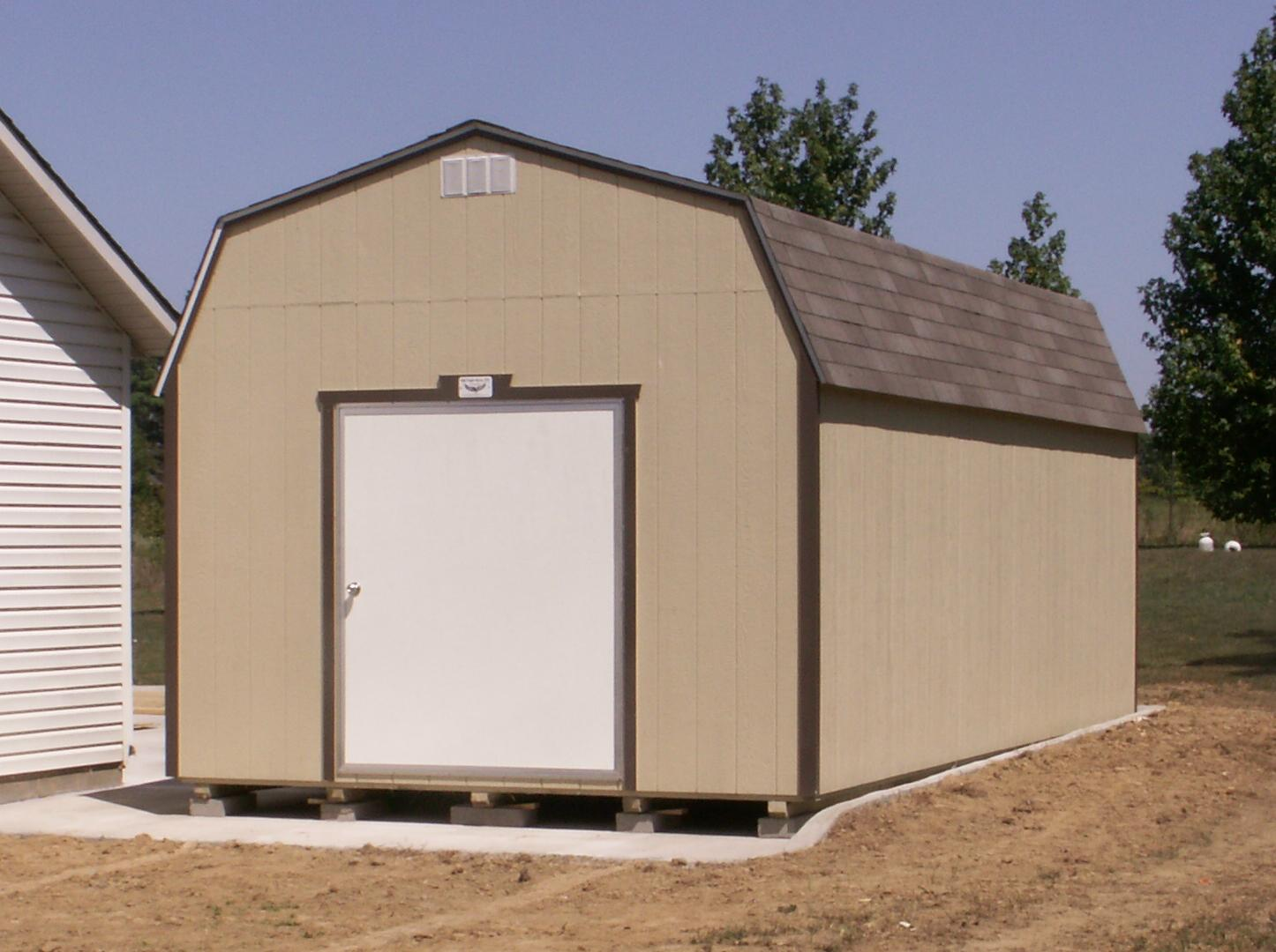 LOFTED BARN STORAGE BUILDING ARKANSAS