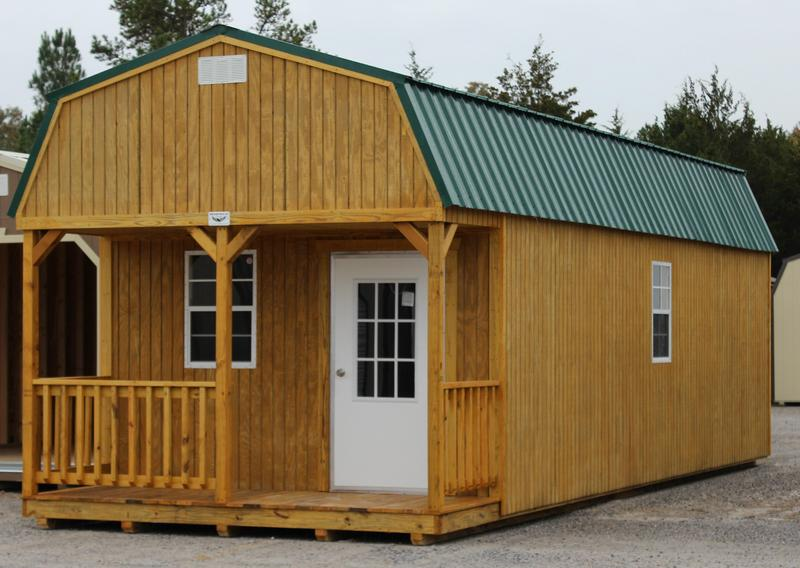 Access wooden storage sheds for sale in georgia shed build for Large garden buildings