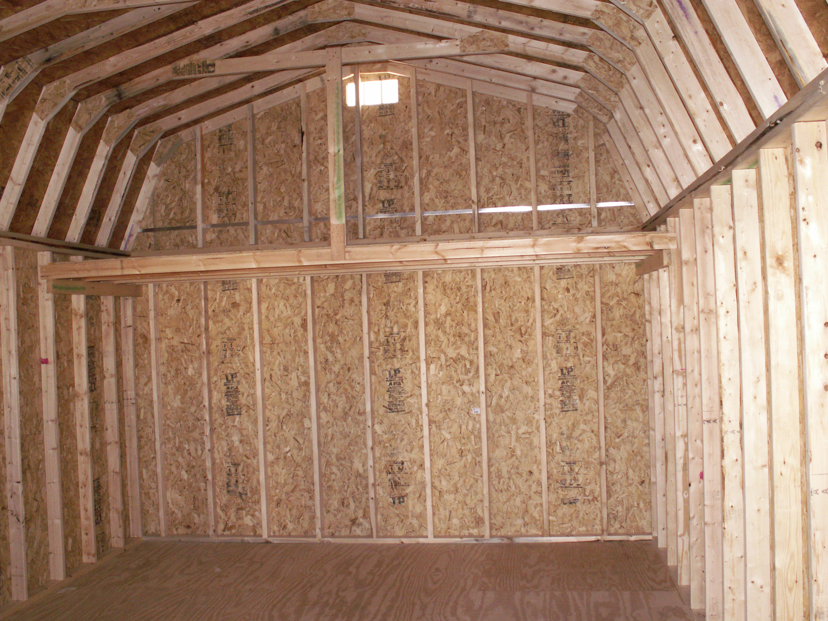 Choice small shed with sleeping loft detect shed for Small barn with loft