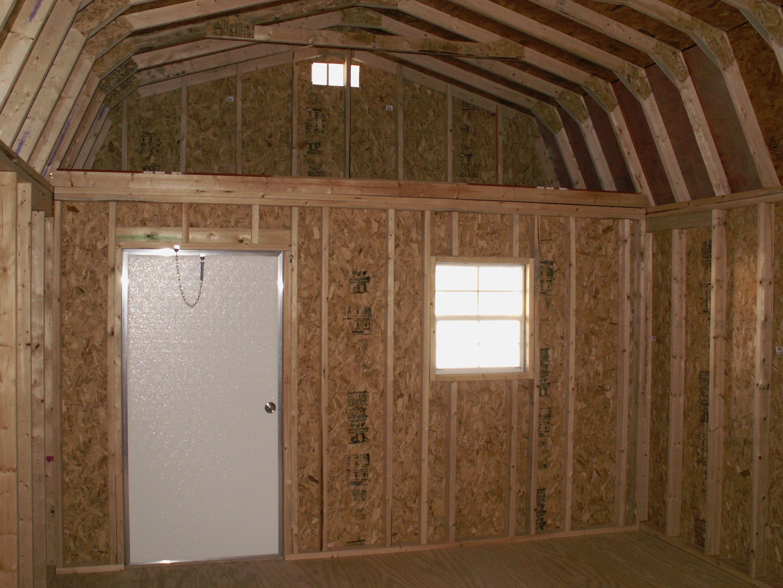 Interior Finished Deluxe Lofted Barns Joy Studio Design