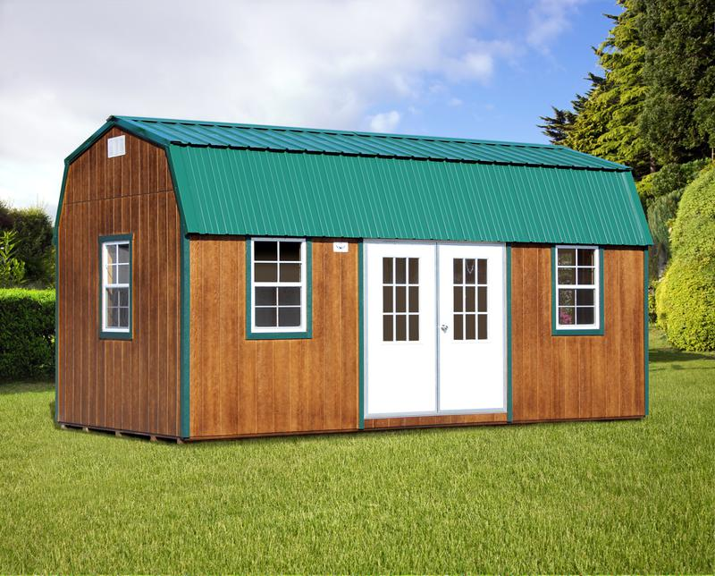 Bald Eagle Barns 10x20 Side Lofted Barn